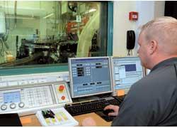 Доводка двигателя в испытательной лаборатории.