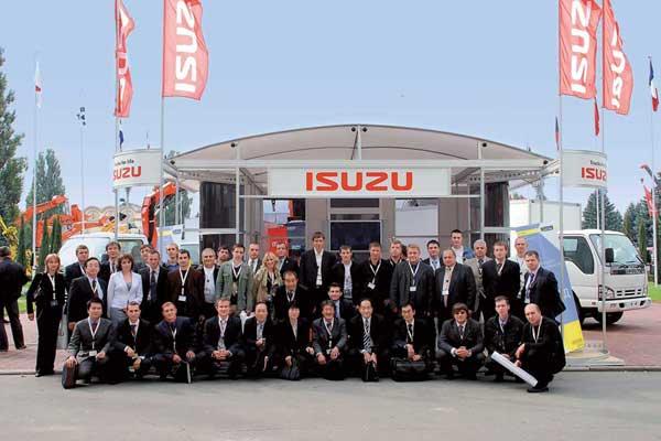 Первая дилерская конференция Isuzu