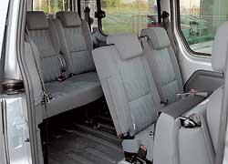 Широкий дверной проем и малая погрузочная высота облегчают доступ в грузовой отсек.