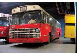 Volvo (1967 г.). Кузов – SKV. Мест – 74 (сид. – 47). Мотор – турбодиз., 100 л. с.
