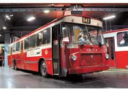 Volvo B58-60T (1967 г.). Кузов – Hagghund & Soner. Мест – 82 (сид. – 50). Мотор – турбодиз., 210 л. с. Шведские транспортные компании охотно приглашали женщин-водителей.