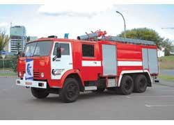 Самый мощный в Украине огнеборец – АЦ-60 (53211), модель 256 ежесекундно выбрасывает 60 л воды на расстояние 95 м.