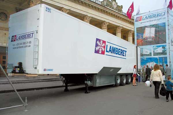 «Изотермы» Lamberet в Украине отныне представляет компания «Аутомотив ТСГ».