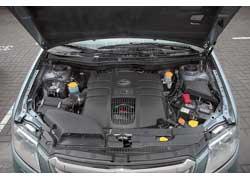 Subaru Tribeca для европейского рынка выпускается только с 3,6-литровым мотором. Соответственно, в Украине официально представлена именно эта модель.