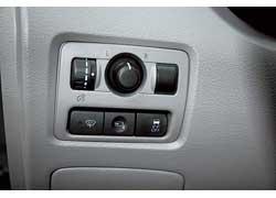 В зоне «дворников» в Subaru предусмотрен отдельный обогрев сектора лобового стекла.