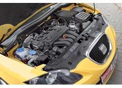 Бензиновый двигатель объемом 2,0 литра с непосредственным впрыском топлива в атмосферном варианте развивает 150 л. с.