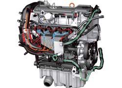 Бензиновый двигатель с непоср. впр., турбонаддув