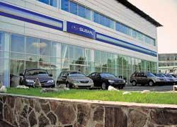 Первый официальный концептуальный дилерский центр Subaru открылся в Крыму.