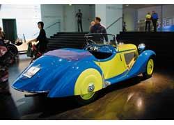 Элегантный спортивный двухместный BMW 315/1 (1934–36 гг.). 6 цил., 1490 см куб., 40 л. с., 125 км/ч.