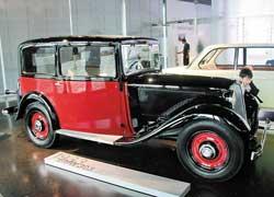 Первый автомобиль BMW собственной конструкции, разработан Фрицем Фидлером (1933–34 гг.). 6 цил., 1173 см куб., 30 л. с., 90 км/ч.