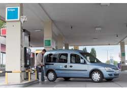 Самые крупные сети газовых заправок в Европе созданы в Швеции и Швейцарии.