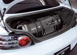 Баллоны для водорода претендуют на значительную часть полезных для автовладельцев объемов автомобиля.