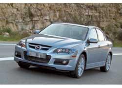 «Заряженная» Mazda6 MPS с 260-сильным мотором и полноприводной трансмиссией может быть альтернативой Mitsubishi Lancer EVO и Subaru Impreza WRX STi.