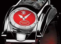 Швейцарская компания Parmigiani Fleurier представила новую версию наручных часов Bugatti Type 370.