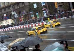 На таких Renault Megane Trophy украинские спортсмены выступают в многочасовых гонках.