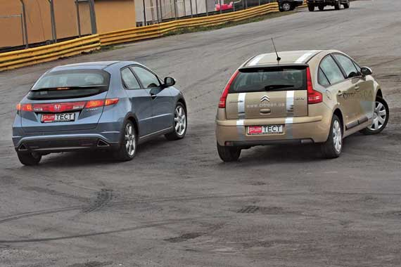 Honda Civic & Citroёn C4