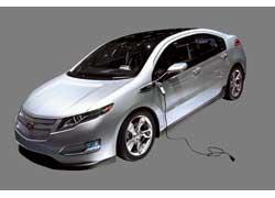 Предсерийный прототип гибрида Chevrolet Volt может проехать до 60 км исключительно на электротяге.