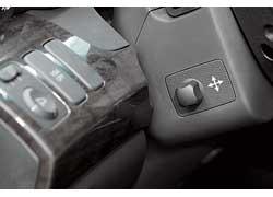 У предыдущей Аcura MDX не было регулировки электропривода руля. У современной – есть .