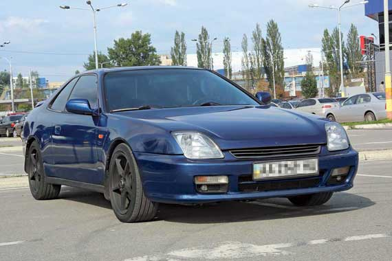 Honda Prelude V 1996–2001 г. в. от $13 300 до $18 000