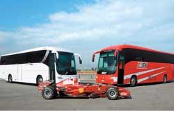 Итальянская компания Iveco Irisbus решила поддержать гонщиков Формулы-1 и подарила команде Ferrari Formula 1 дом на колесах Domino HDH.