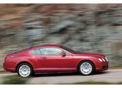 Купе Continental GT получаем, исключая пару дверей…