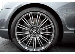 Самые большие тормозные диски для серийного авто (спереди 420 мм , сзади 356 мм) при штатных режимах эксплуатации рассчитаны на весь срок службы машины.