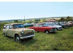 Москвич-423 – первыйв СССР автомобиль с 5-дверным кузовом универсал.