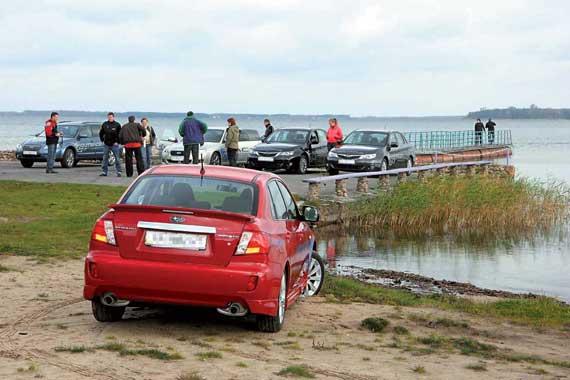 Тест-драйв Subaru 2009 модельного года