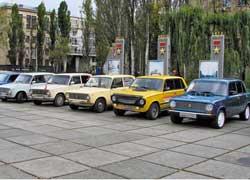 В Киеве под девизом «Можно ездить и по правилам» прошел автопробег-марафон ВАЗов «Золотая осень».