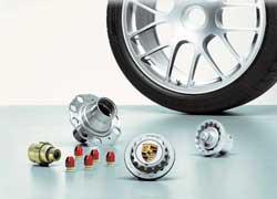 Оригинальное крепление колеса центральной гайкой позаимствовали инженеры Porsche в мире автоспорта