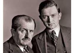 Фердинанд Порше с сыном Фердинандом Антоном Эрнстом Порше