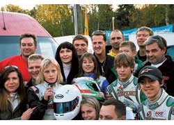 Шестеро украинских картингистов приняли участие в престижной немецкой гонке Graf Berghe von Trips Memorial, в которой стартуют лучшие гонщики Европы.