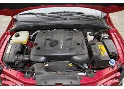 2,0-литровый турбодизель с системой непосредственного впрыска Common Rail, как у всех SsangYong, изготовлен по лицензии Mercedes-Benz.