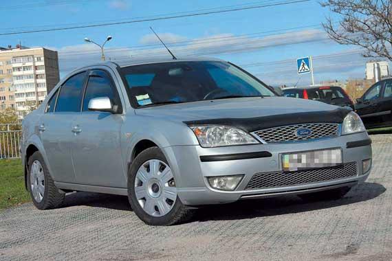 Ford Mondeo II 2000 – 2007 г. в.