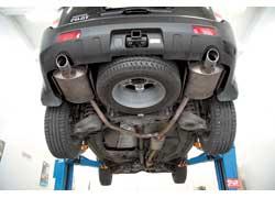 Независимая подвеска всех колес Honda Pilot «заточена» под асфальтовые дороги.