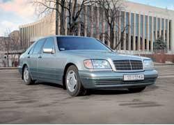 Mercedes S-Klasse (W140) 1991–1998 г. в. от $14 000 до $34 000
