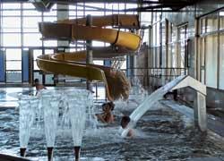 Аквапарк «Водолей» – это комплекс водных развлечений с несколькими бассейнами.