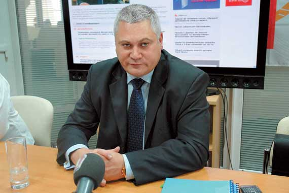 Начальник ДГАИ Сергей Коломиец
