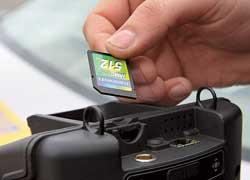 2. После смены все данные с флеш-карты радара «Визирь» сбрасываются в компьютер админпрактики ГАИ.