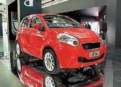 Итальянская компания DR Motor начала сборку китайских машин Chery Faira NN/QQ2 (в Украине не представлена) под собственным названием DR1.