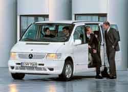 Vito завоевал почетное звание «Лучший фургон года». На базе Vito создана самая дорогая модификация – V-Klasse с пневматической задней подвеской