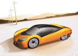 Электромобиль-трансформер Rinspeed iChange