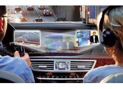 Для своих люксовых моделей Mercedes-Benz предложит опционный дисплей с технологией Splitview, который позволит водителю и пассажиру смотреть две различные программы одновременно.