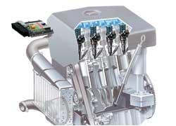 Насос-форсунка — одноплунжерный насос высокого давления, объединенный с форсункой для подачи топлива в камеру сгорания дизеля под большим давлением (2000 бар).