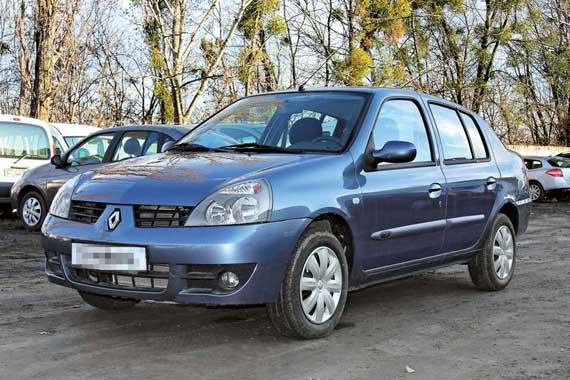Renault Clio Simbol 1999-2008 г. в.