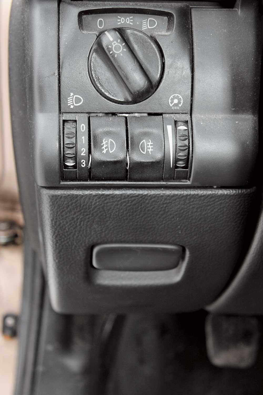 кнопка корректора фар опель омега