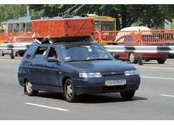 Чем выше центр тяжести автомобиля с грузом, тем менее устойчива машина.
