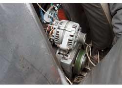 Для рекуперации энергии торможения генератор от Lada 110 оказался слабоват.