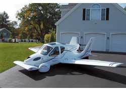 Мастера американской компании Terrafugia придумали и уже испытали автомобиль-трансформер.