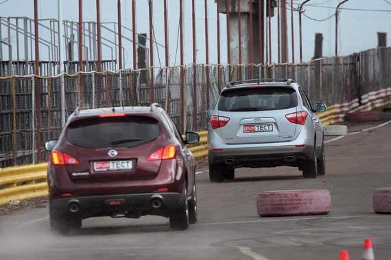 Hyundai Veracruz & Nissan Murano